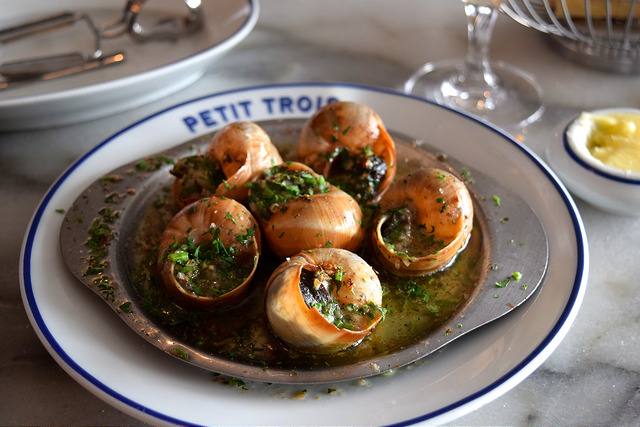 Snails at Petit Trois, Hollywood