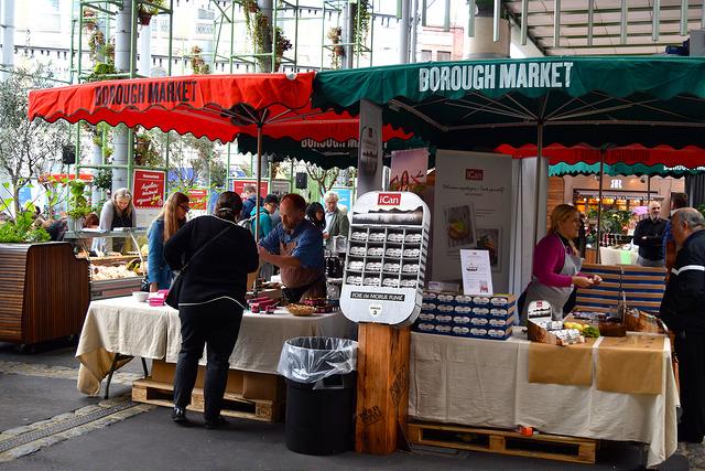 Market Stalls at The Icelandic Pantry, Borough Market