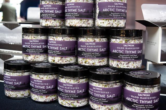 Thyme Salt at The Icelandic Pantry, Borough Market   www.rachelphipps.com @rachelphipps