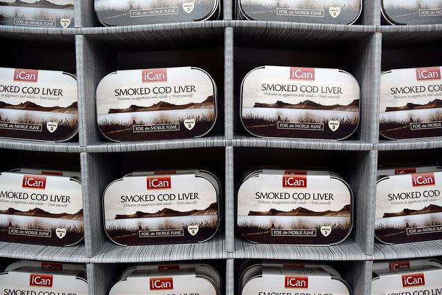 Smoked Cod Liver at The Icelandic Pantry, Borough Market   www.rachelphipps.com @rachelphipps