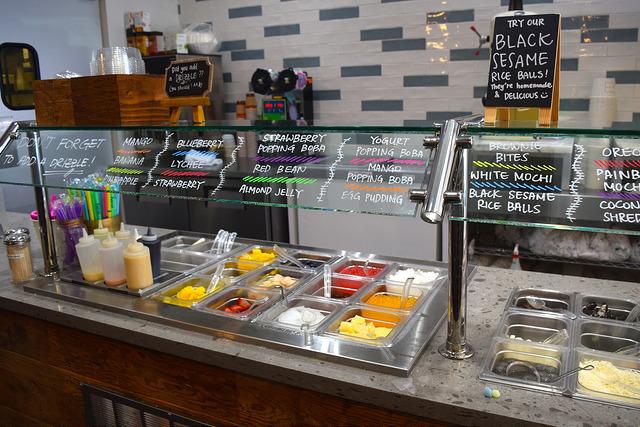 Topping Counter at Snow L.A., Koreatown | www.rachelphipps.com @rachelphipps