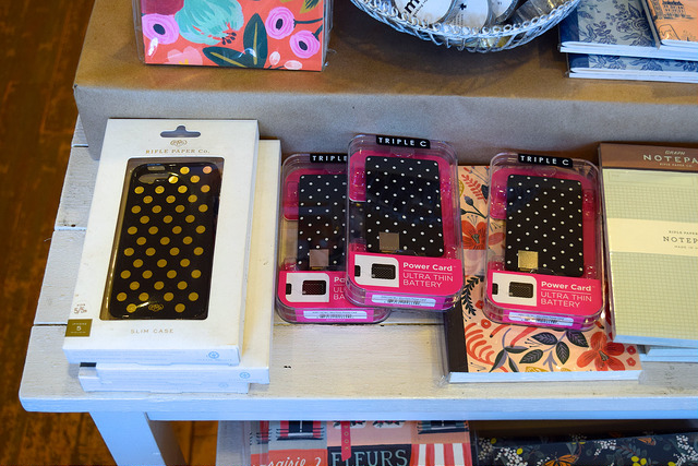 iPhone Accessories at Urbanic Paper Boutique, Los Angeles | www.rachelphipps.com @rachelphipps