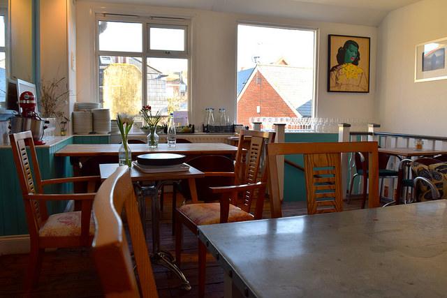 Upstairs at Pop Up Cafe, Deal   www.rachelphipps.com @rachelphipps