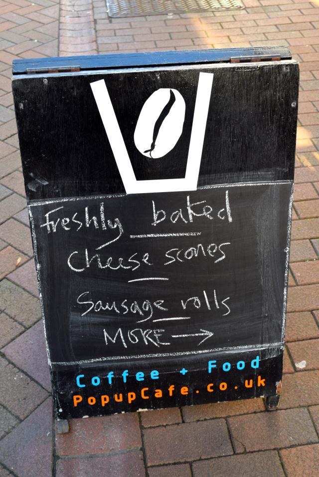 Pop Up Cafe, Deal   www.rachelphipps.com @rachelphipps