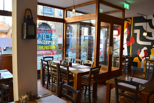 Zeus Ouzeri & Taverna in Canterbury | www.rachelphipps.com @rachelphipps