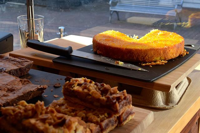 Cakes at Pop Up Cafe, Deal   www.rachelphipps.com @rachelphipps