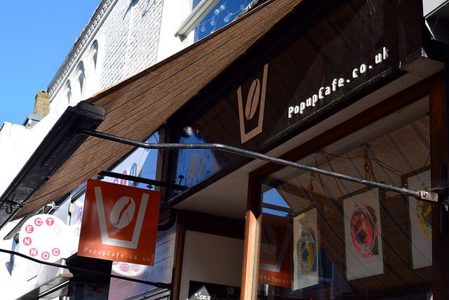 Pop Up Cafe in Deal   www.rachelphipps.com @rachelphipps