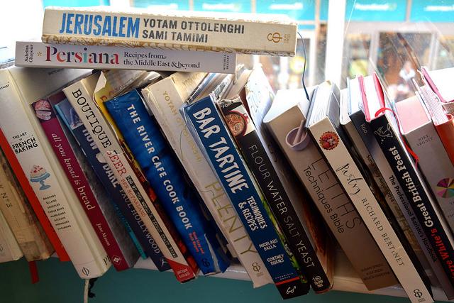 Cookbooks at Pop Up Cafe, Deal   www.rachelphipps.com @rachelphipps