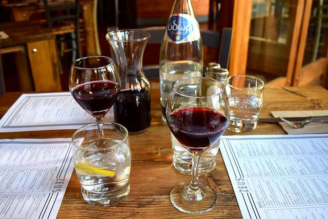 Cypriot Red Wine at Zeus, Canterbury | www.rachelphipps.com @rachelphipps