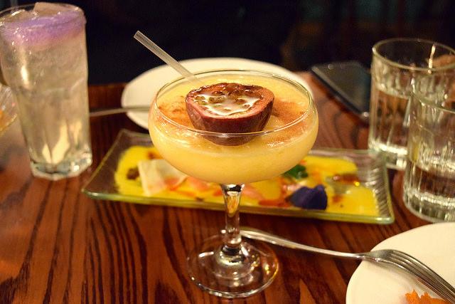 Thor's Passion Cocktail at Ceviche, Soho   www.rachelphipps.com @rachelphipps