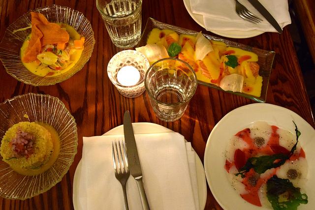 After Work Dinner at Ceviche Soho   www.rachelphipps.com @rachelphipps