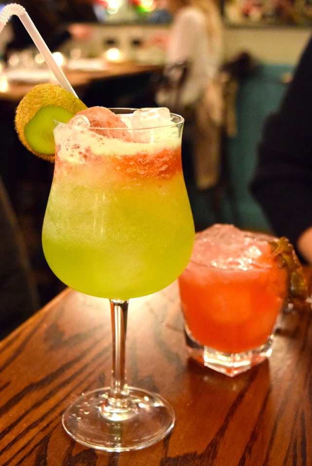 Non-Alcoholic Cocktails at Ceviche, Soho   www.rachelphipps.com @rachelphipps
