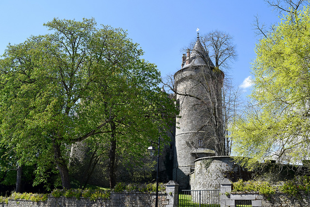 Chateaubriand's Castle in Combourg, Brittany | www.rachelphipps.com @rachelphipps