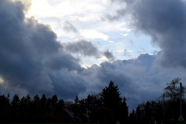 Storm Clouds in Brittany, France   www.rachelphipps.com @rachelphipps