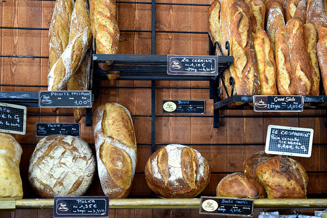 French Bread in Combourg, Brittany | www.rachelphipps.com @rachelphipps
