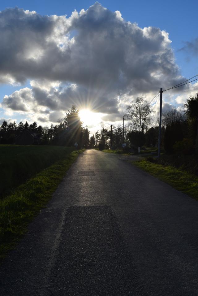 Sundown in Brittany, France   www.rachelphipps.com @rachelphipps