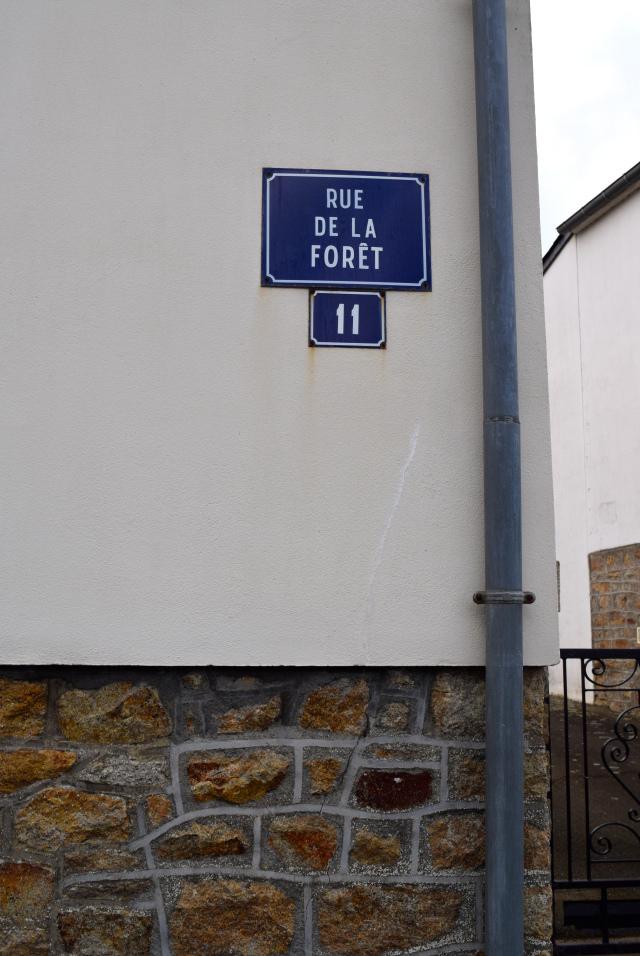 Rue de la Foret, Brittany   www.rachelphipps.com @rachelphipps