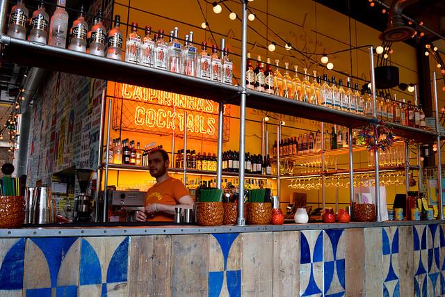 Bar at Cabana, Covent Garden   www.rachelphipps.com @rachelphipps