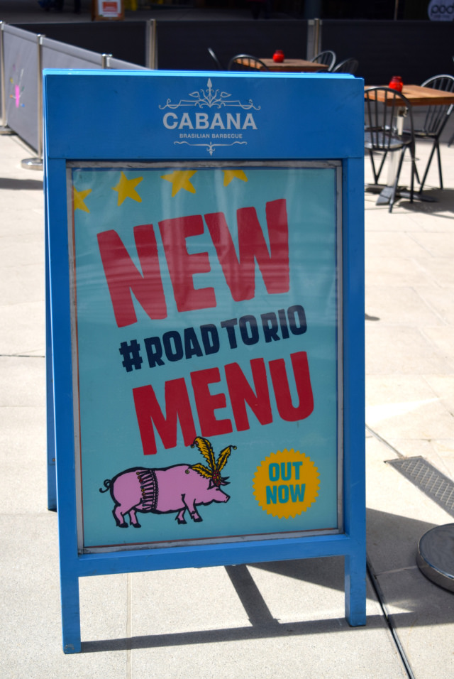 New Road To Rio Menu at Cabana, Covent Garden   www.rachelphipps.com @rachelphipps