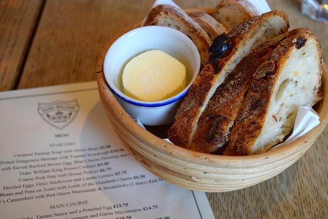 Bread Basket at The Duke William, Ickham | www.rachelphipps.com @rachelphipps