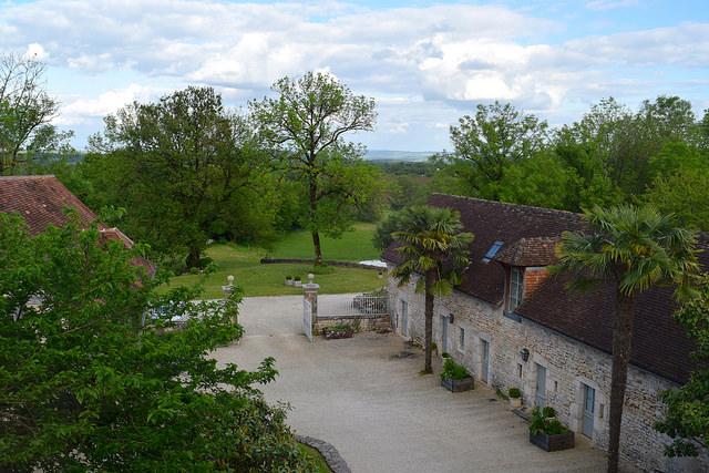 View from Manoir de Malagorse | www.rachelphipps.com @rachelphipps