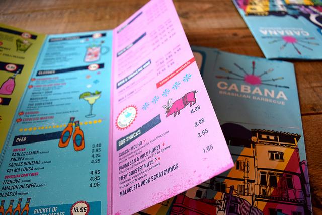 Road To Rio Menu at Cabana, Covent Garden   www.rachelphipps.com @rachelphipps