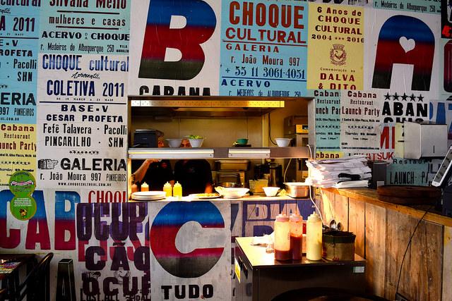 Kitchen at Cabana, Covent Garden   www.rachelphipps.com @rachelphipps