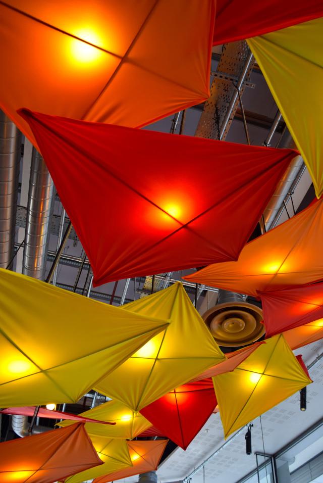 Ceiling Kites at Cabana, Covent Garden   www.rachelphipps.com @rachelphipps