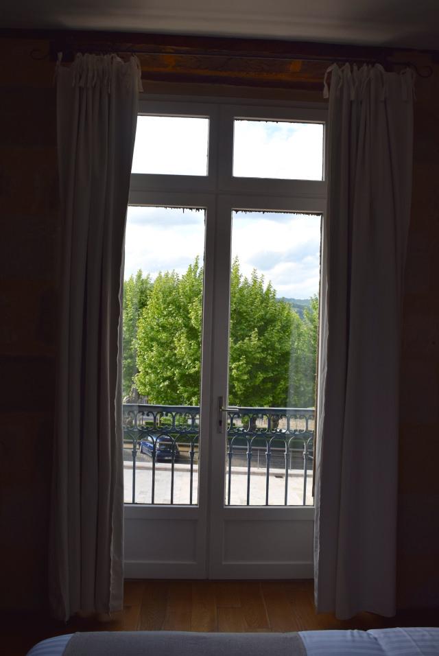 View at Hostellerie de L'Imaginaire, Terrasson | www.rachelphipps.com @rachelphipps
