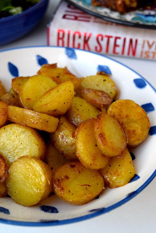 Bandits Joy Potatoes from Rick Stein's From Venice to Istanbul | www.rachelphipps.com @rachelphipps