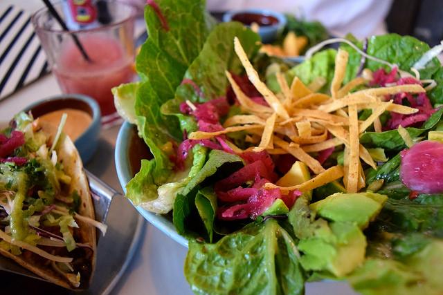 Avocado Salad at DF/Mexico, Shoreditch | www.rachelphipps.com @rachelphipps
