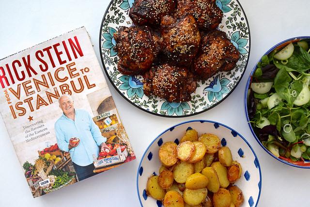 Feasting from Rick Stein's From Venice to Istanbul | www.rachelphipps.com @rachelphipps