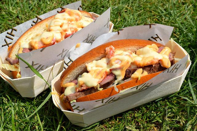 Hix Steak & Lobster Rolls at Polo in the Park   www.rachelphipps.com @rachelphipps