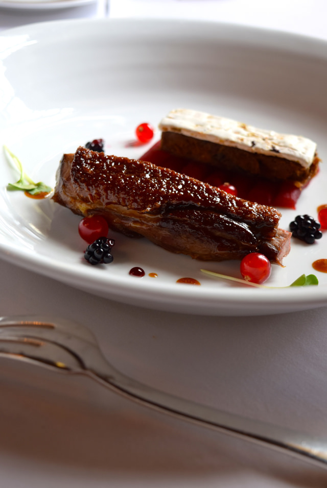 Glazed Duck Breast at Chateau de la Treyne | www.rachelphipps.com @rachelphipps