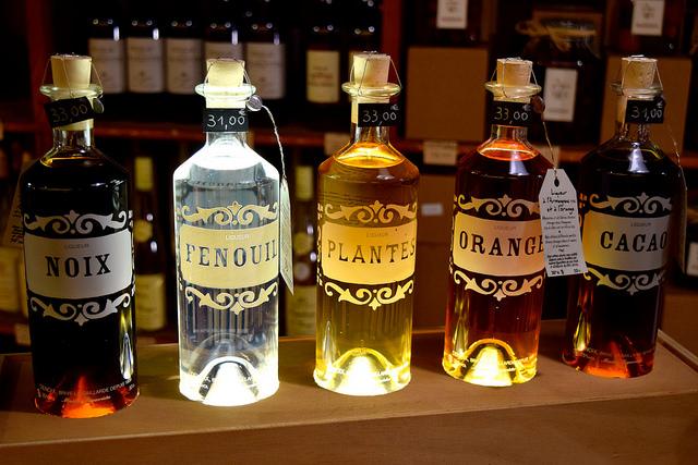 Spirits at the Denoix Distillery, Brive | www.rachelphipps.com @rachelphipps