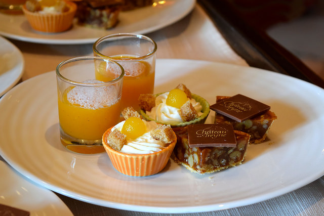 Petit Fours for coffee at Chateau de la Treyne | www.rachelphipps.com @rachelphipps
