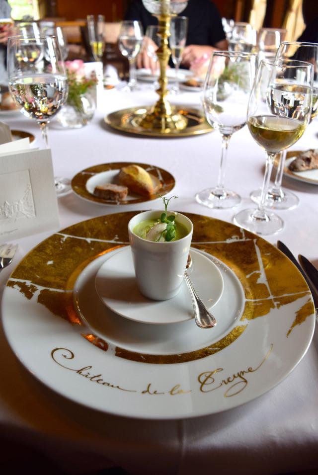 Amuse Bouche at Chateau de la Treyne | www.rachelphipps.com @rachelphipps