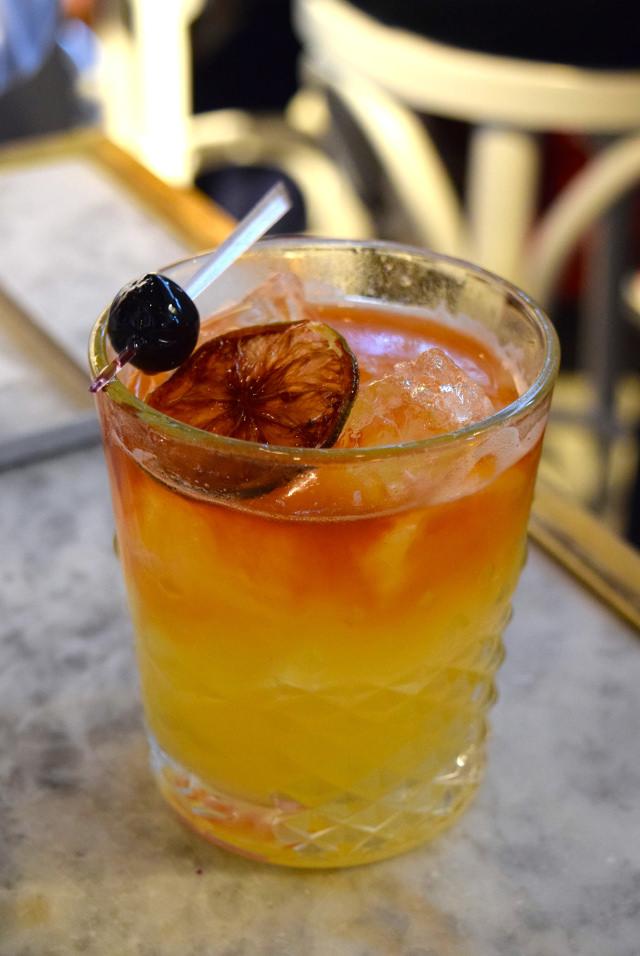 Smokey Mezcal Cocktail at Le Bab, Soho   www.rachelphipps.com @rachelphipps