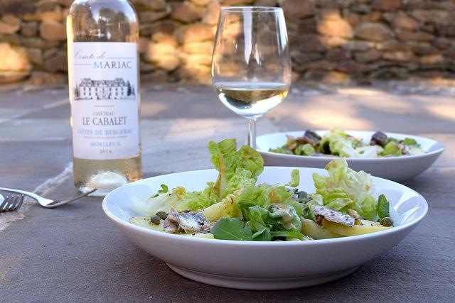 Anchovy, Caper & Potato Salads with French Vinaigrette | www.rachelphipps.com @rachelphipps