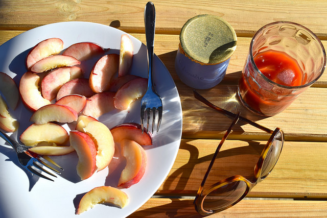 French Summer Breakfast | www.rachelphipps.com @rachelphipps