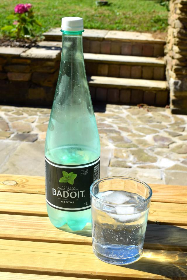 Mint Badoit French Sparkling Water   www.rachelphipps.com @rachelphipps
