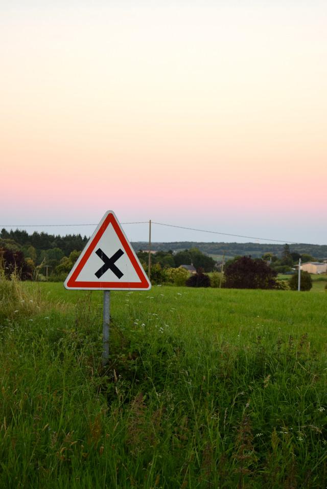Sunset in Brittany   www.rachelphipps.com @rachelphipps
