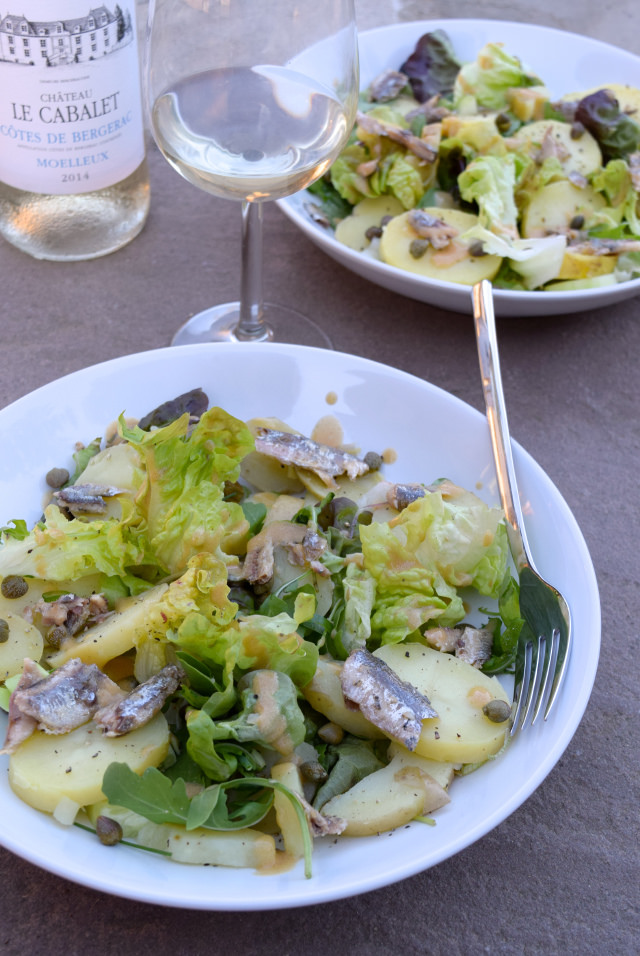 Anchovy, Caper & Potato Salads | www.rachelphipps.com @rachelphipps