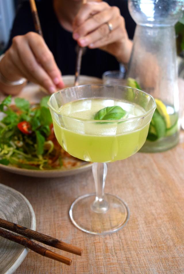 Honey & Basil Daiquiri at Little Viet Kitchen, Islington | www.rachelphipps.com @rachelphipps