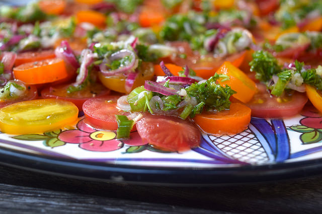 The Only Tomato Salad Recipe You'll Ever Need | www.rachelphipps.com