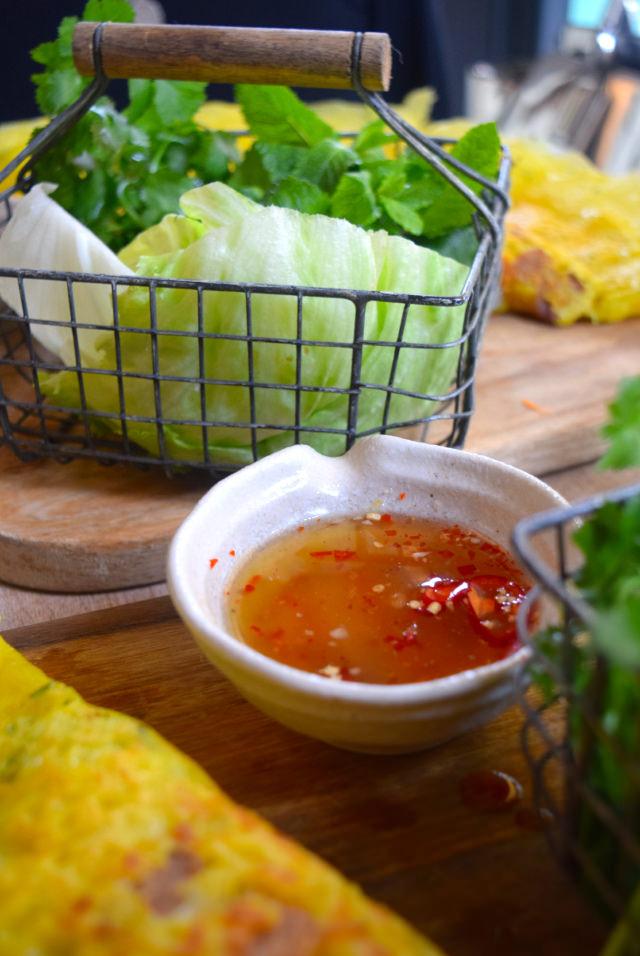 Vietnamese Dipping Sauce at Little Viet Kitchen, Islington | www.rachelphipps.com @rachelphipps