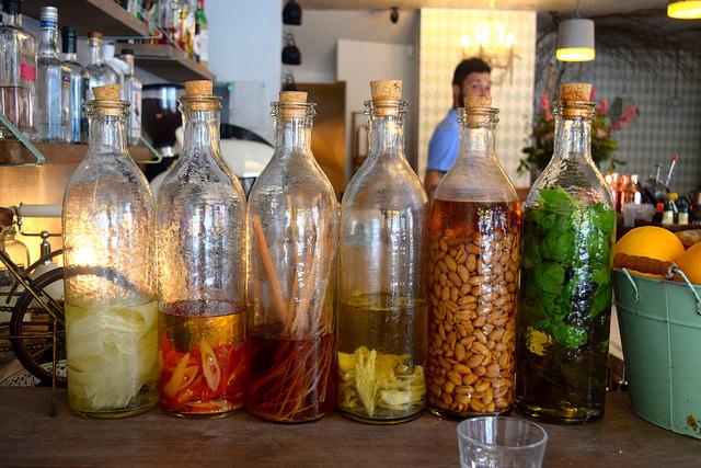 Infused Spirits at Little Viet Kitchen, Islington | www.rachelphipps.com @rachelphipps