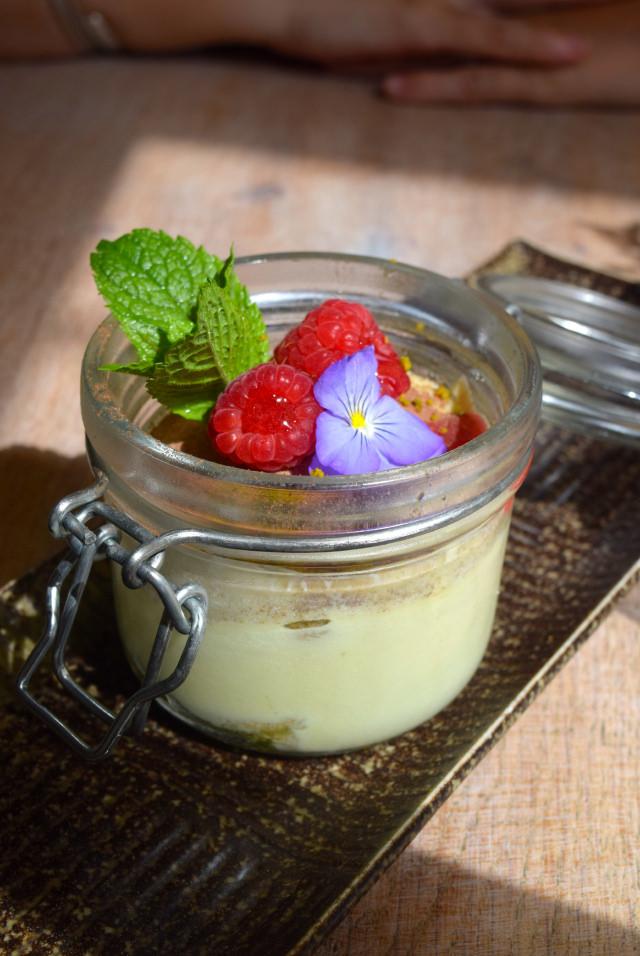 Matcha Tiramasu at Little Viet Kitchen, Islington | www.rachelphipps.com @rachelphipps