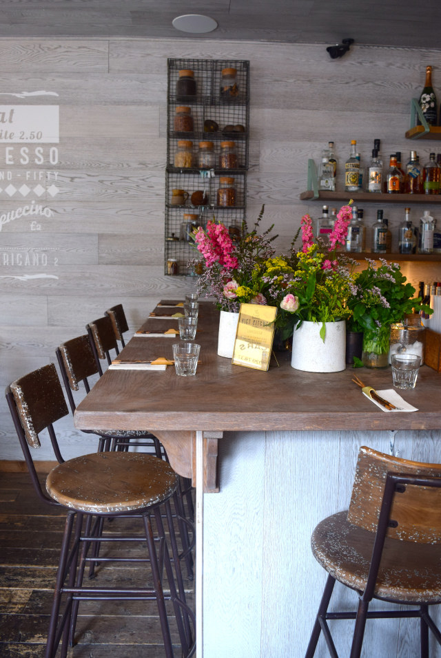 Bar Seating at Little Viet Kitchen, Islington | www.rachelphipps.com @rachelphipps