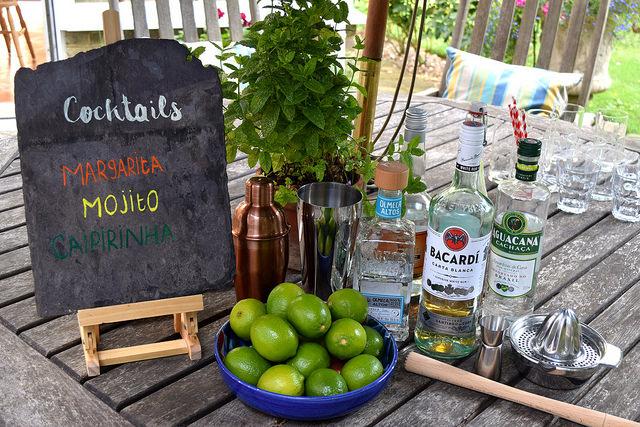 DIY South American Cocktail Bar | www.rachelphipps.com @rachelphipps